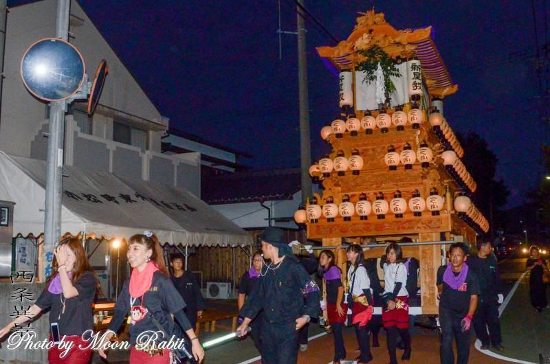 新屋敷だんじり(屋台) 常盤祭2018