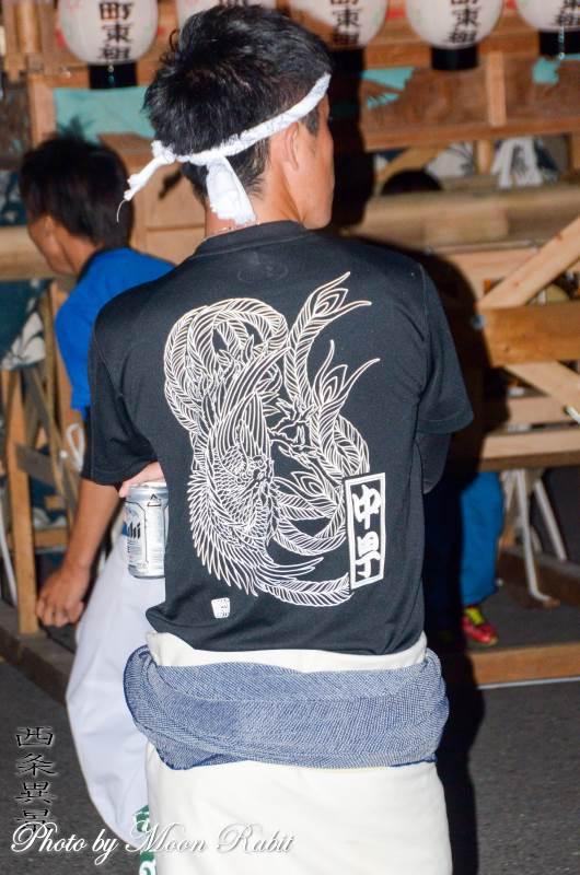 中甼だんじり(中町屋台) 祭り装束 小松祭り 三嶋神社祭礼 愛媛県西条市小松町