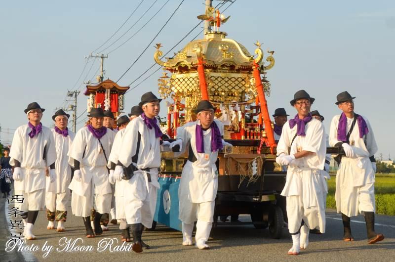 渡御行列 石岡神社神輿