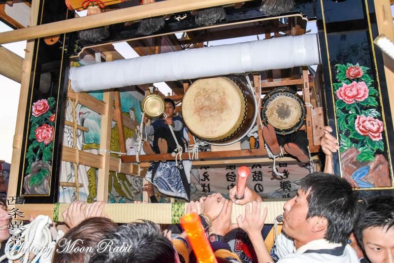 祭り太鼓 山道だんじり(山道屋台) 西条祭り 石岡神社祭礼 愛媛県西条市
