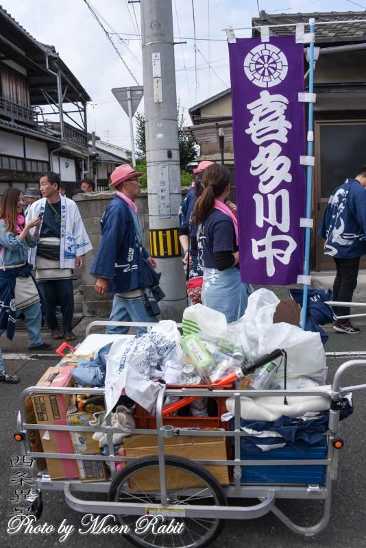 リヤカー 喜多川中だんじり(屋台)