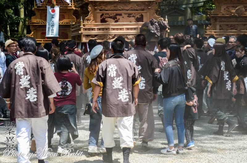 常盤巷屋台(だんじり) 祭り装束