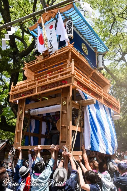 喜多川中だんじり(屋台) 天皇陛下御即位奉祝