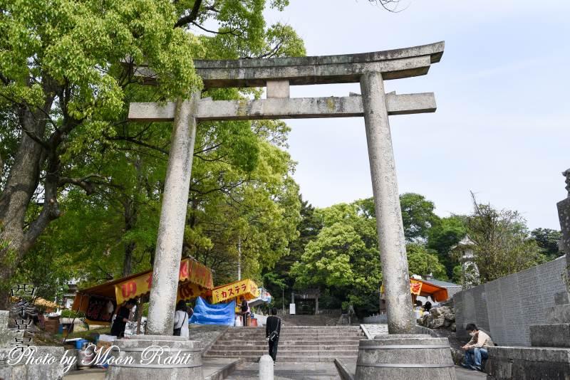 石岡神社二の鳥居 愛媛県西条市氷見末長