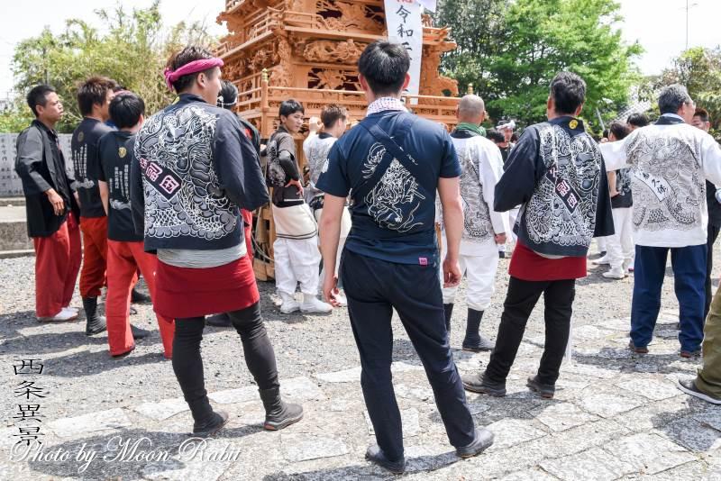 久保だんじり(屋台) 祭り装束 石岡神社祭礼