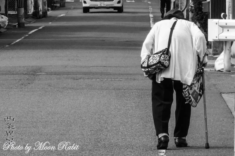 歩く 愛媛県西条市神拝
