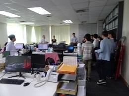5-2ヤンゴン事務所内を見学