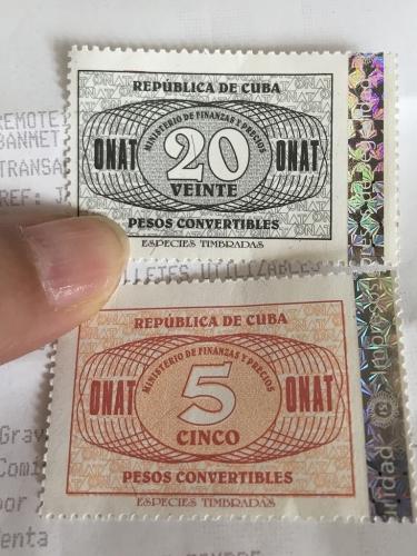 キューバの印紙